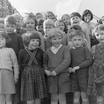Activity Hour, Fairlawn Primary School; 1959