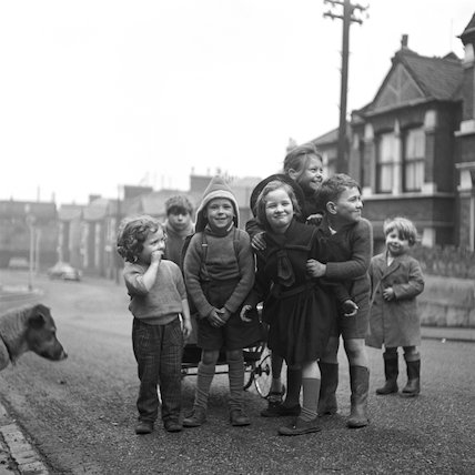 Children in a residential street. c.1955