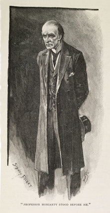 Illustration from the Strand Magazine;1893
