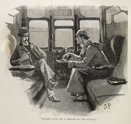 Illustration from the Strand Magazine; 1892