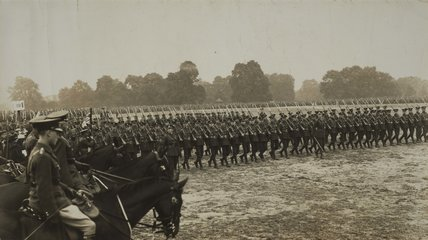 Trooping the Colour, 1919