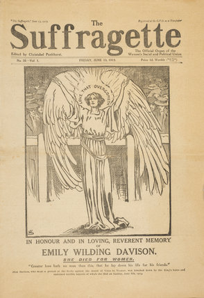 The Suffragette dated June 13th 1913.