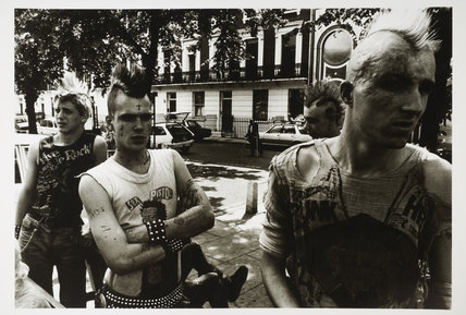 Punks on the King's Road