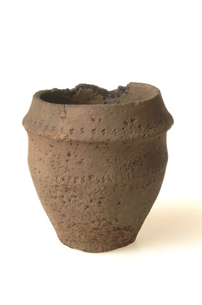 Ceramic collated urn: early bronze age