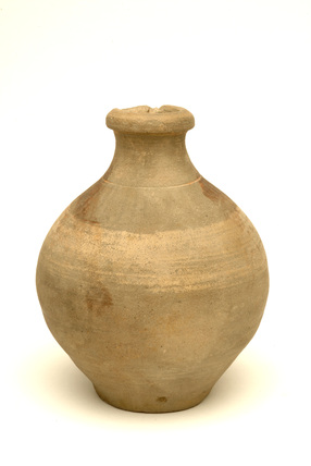 Roman ceramic bottle