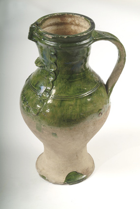 'Tudor Green' ware: 14th-15th century