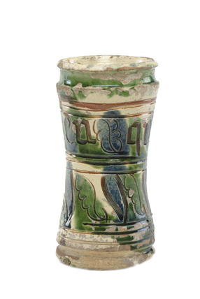 Storage jar or albarello: 16th century