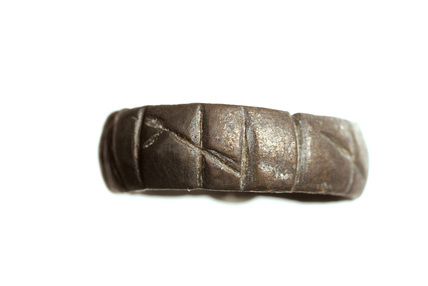 Brass ring: 10th century