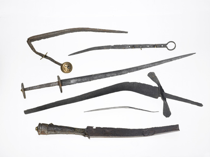 Selection of late 15th-early 16th daggers