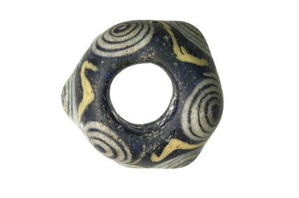 Glass bead from Richmond: Iron Age