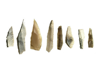 Selection of early mesolithic flint tools
