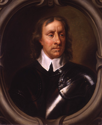 Portrait of Oliver Cromwell:  1599-1658
