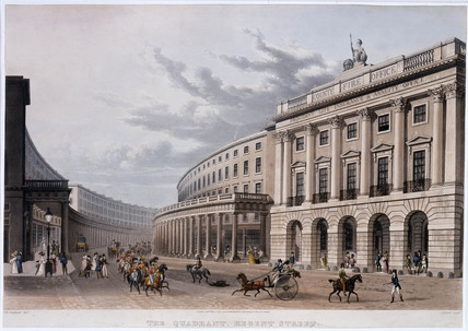 The Quadrant, Regent Street: 1822