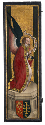 The Annunciation, left panel: c.1500