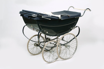 Baby's perambulator: 20th century
