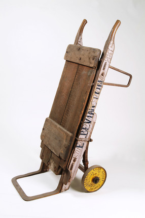 Covent Garden hand truck: 20th century