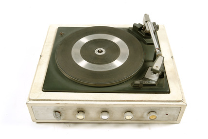 Garrard record deck: 20th century