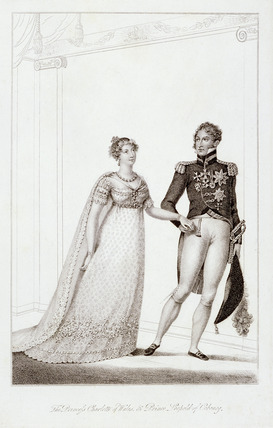 Past and Present; The Princess Charlotte of Wales and Prince Leopold of Cobourg: 1816