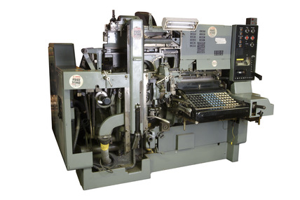 Harris Intertype Line Casting Machine: 20th century
