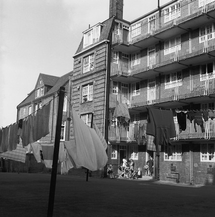 A housing estate at Highbury: 1975