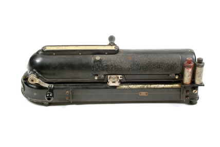 `The Protectograph` cheque writing machine: 1903