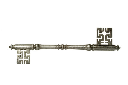 Double ended key: 18th century