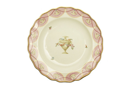 Chelsea-Derby plate: 1770-1780