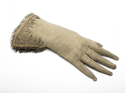 One of a pair of a Women's gloves: 17th century