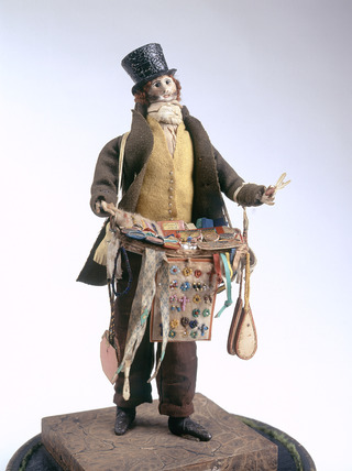 Male Pedlar Doll Or London Cry 19th Century At Museum Of