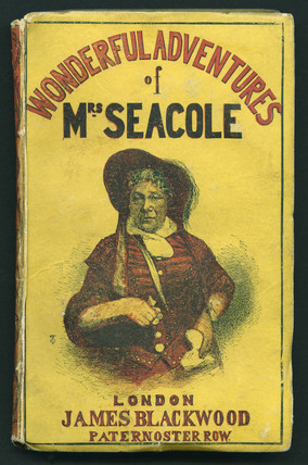 Cover of the book titled 'Wonderful Adventures of Mrs Seacole': 1857