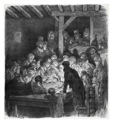 Thieves gambling: 1872