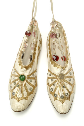 Shoes worn by Anna Pavlova: 1923