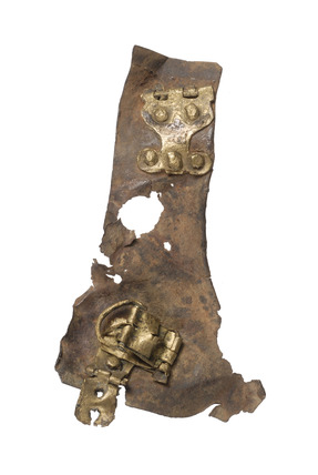 Fragment of a Roman plate armour
