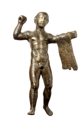 Roman copper alloy statuette