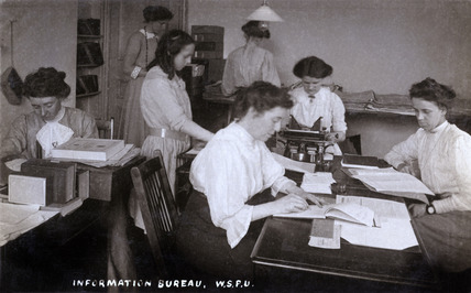 Information Bureau at the Women's Social and Political Union: 20th century