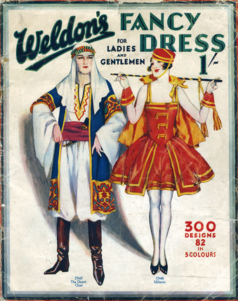 A catalogue of fancy dresses: 20th century