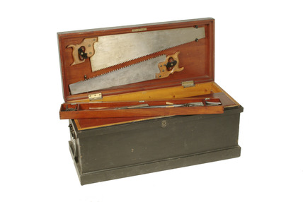 Carpenter's tool chest:  20th century