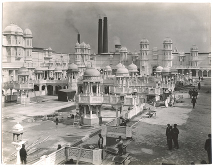 Photograph of  White City under construction: 20th century