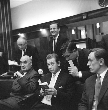 Traders in the London Metal Exchange: 1964