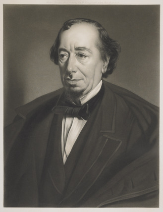 Portrait of Benjamin Disraeli: 1878