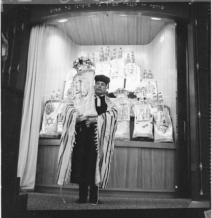 Rabbi Rosenfeld at Finchley Synagogue: 1969