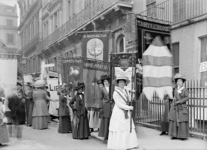 The NUWSS Procession: 13th June 1908