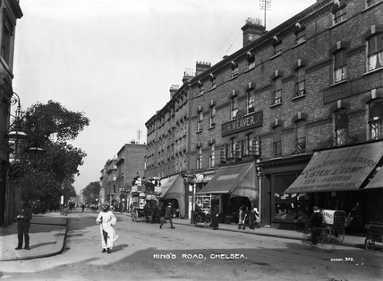 King S Road Chelsea 20th Century By Christina Broom At