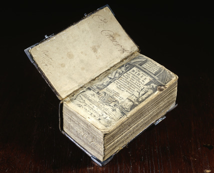 Cromwell's family bible:16th century