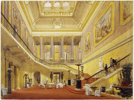 The Grand staircase of Stafford House (Lancaster House): 19th century