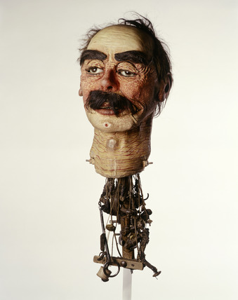 Ventriloquist's dummy head: 20th century