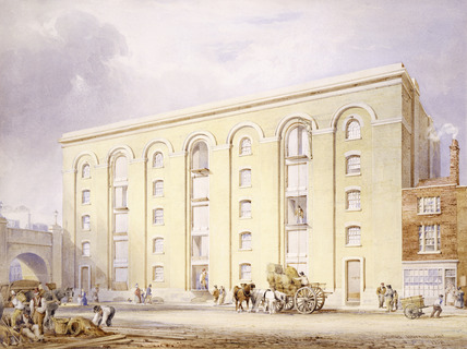 Proposals for Warehouses in Southwark close to the new London Bridge: 1834