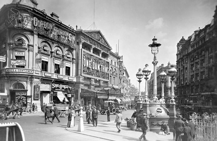 View of Piccadilly Circus: 1927