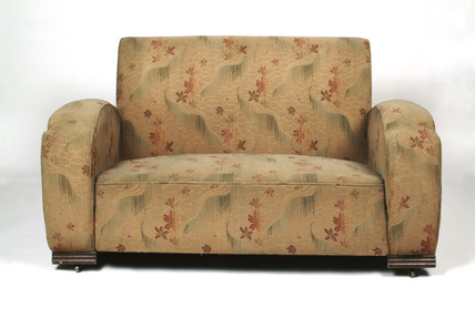 Two-seater sofa: 1938
