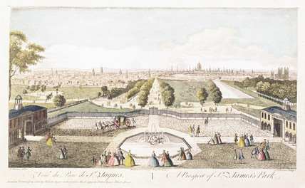 A Prospect of St James's Park: 18th century